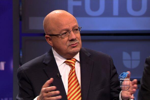 El presidente del Miami Dade College, Eduardo Padrón.