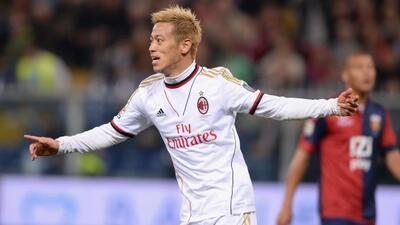 El japonés Keisuke Honda se hizo presente entre los anotadores en el tri...