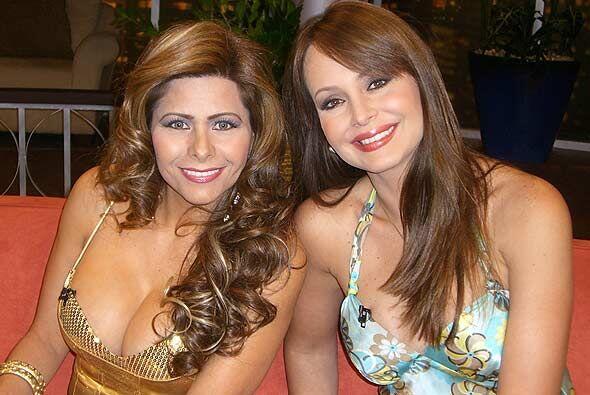 Carme Jara y Gaby Spanic son mujeres interesadas en los poderes psiquicos.