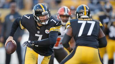 Steelers 30-9 Browns: 'Big Ben' lució sólido y PIT venció a CLE (video)