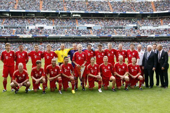 El Bayern también tuvo a varios futbolistas que vistieron sus colores.