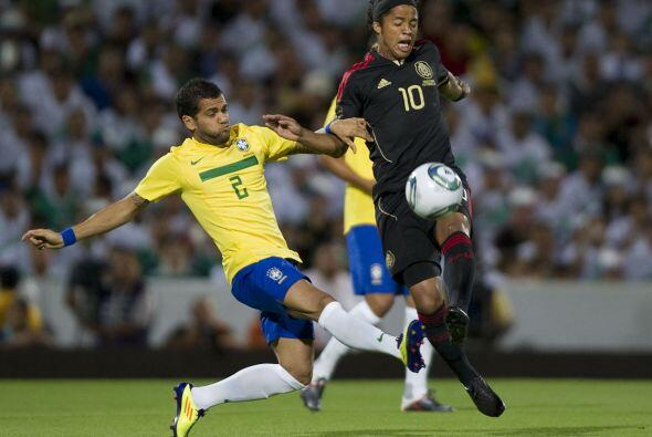Pero Brasil le cortó la racha en Torreón, al vencerlo 2 a 1.