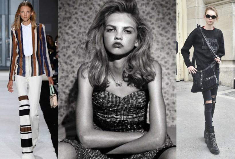 Molly Bair, de 'freak' a modelo de Chanel