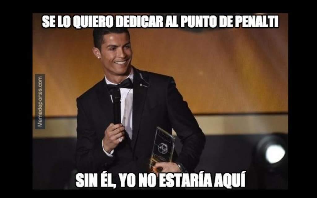Memes ronaldo balon de oro