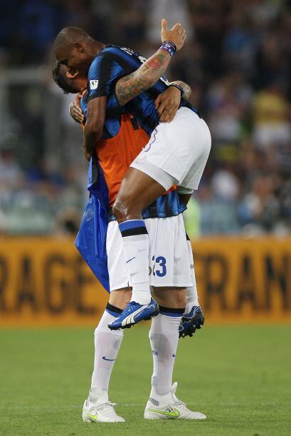 'Samu' volvió a marcar en favor de los 'nerazzurri'.