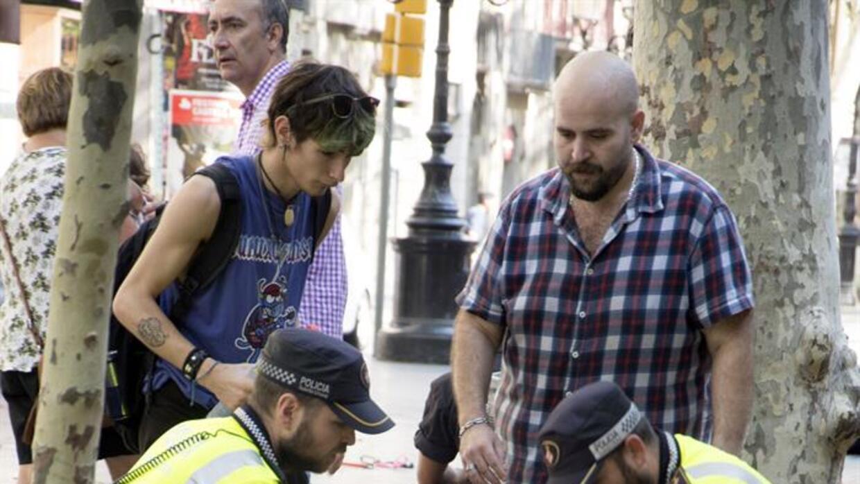 Atropello masivo en Barcelona