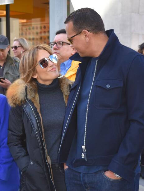 Alex Rodríguez y Jennifer López