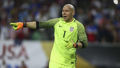 Guzan fue titular en Estados Unidos durante la Copa América Centenario.