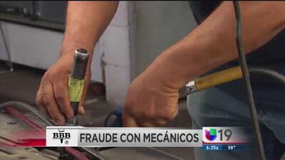 Evite caer en fraudes con mecánicos
