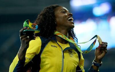 La campeona olímpica Caterine Ibargüen es una de las grandes...