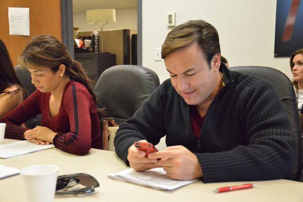 Javier Romero también siempre muy atento a los mensajes de sus seguidora...