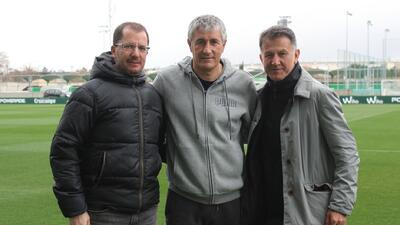 En fotos: con visita previa de Osorio, Betis y Real Sociedad empataron en España