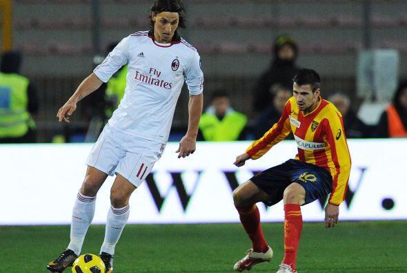 Zlatan Ibrahimovic fue el referente de su club.
