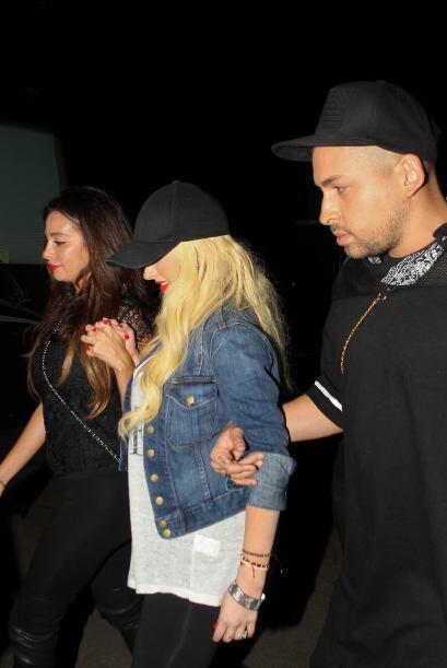 La cantante aumentó tanto de peso, que fue severamente criticada.