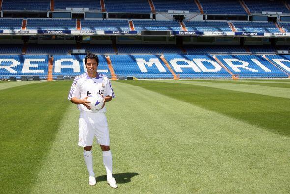 El otro latino que militó en el Real Madrid en las últimas dos décadas e...
