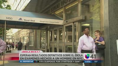 Pánico por posible contagio de ébola en NY