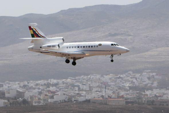 La tarde del 3 de julio, el avión donde viajaba Evo Morales arribó a For...