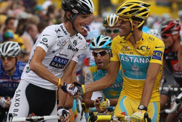 El español dejó en el segundo puesto al competidor de Luxemburgo, Andy S...