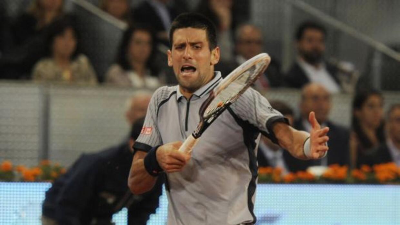 Djokovic perdió en tres sets en su estreno en la Caja Mágica.