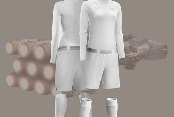 La princesa Leia también tiene su uniforme.