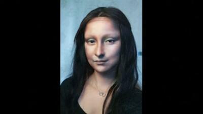 ¿La Mona Lisa en vida? Vean la asombrosa transformación de esta maquilladora en China