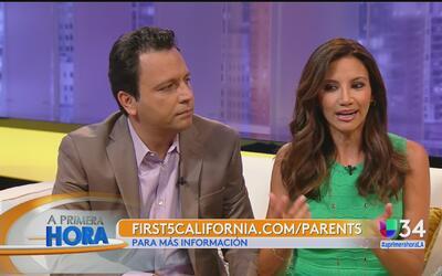 Omar y Argelia hablan sobre paternidad