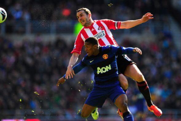 A pesar de todo el Manchester no pasó muchos apuros ante Sunderland.