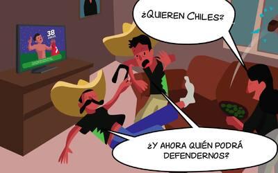 Alexis Sánchez está 'on fire' con la Roja y enciende las alarmas en el Tri