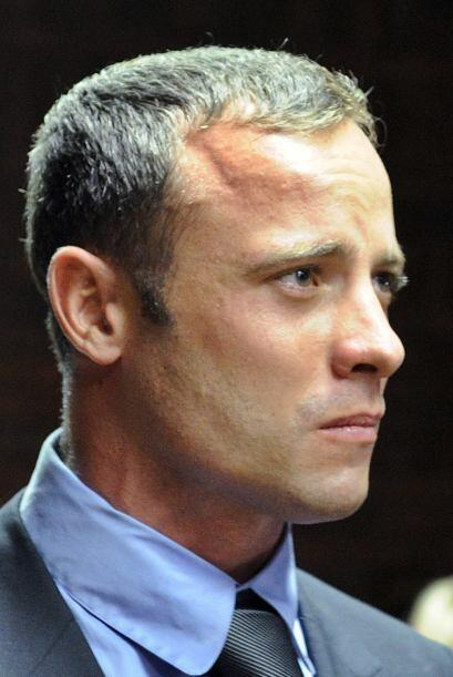 La Fiscalía lo acusó de matar intencionadamente a Steenkamp, después de...