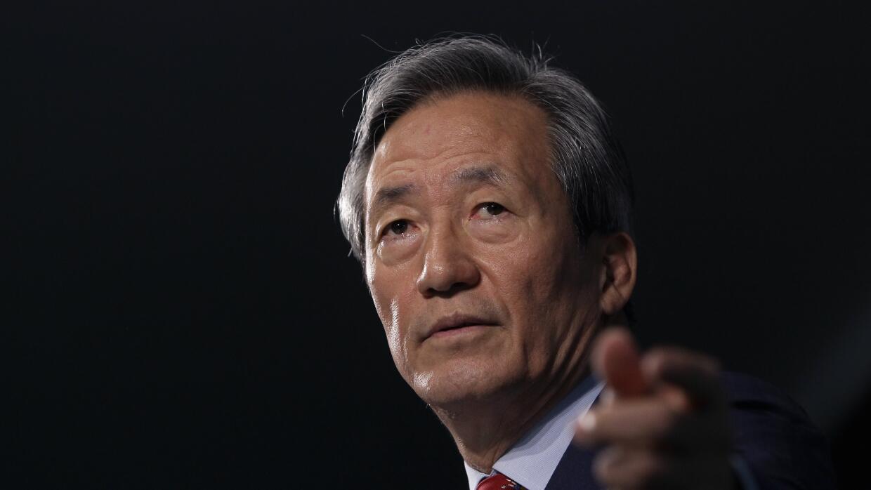 Chung Mong-joon.