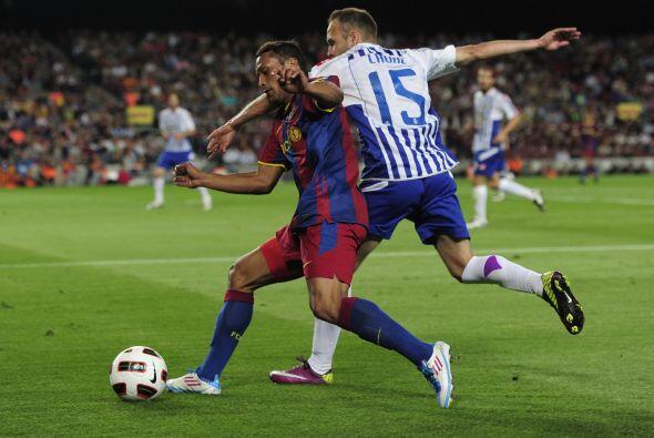 Barcelona intentó abrir el marcador, pero tampoco buscaba opciones con i...