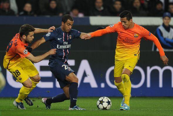 El partido fue muy movido, con mucha acción en las dos porterías.