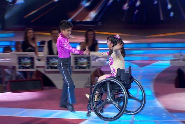 Juanita demostró que no se necesitan piernas, sino corazón...
