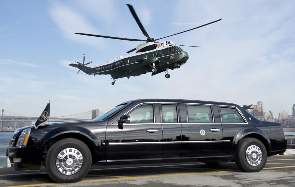Donald Trump no estrena limusina en su inauguración GettyImages-47791692...