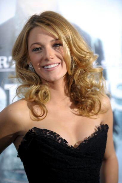 """Esta actriz protagonizó la cinta """"Linterna Verde"""" junto a Ryan Reynolds,..."""