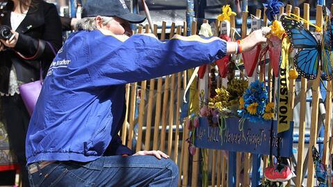 Boston conmemoró el segundo aniversario de los atentados contra el maratón