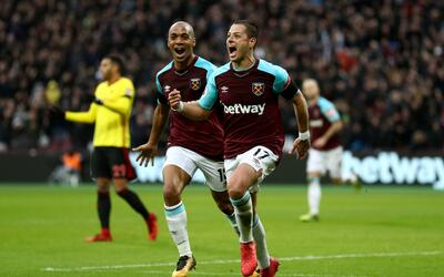 Javier Hernández Chicharito West Ham