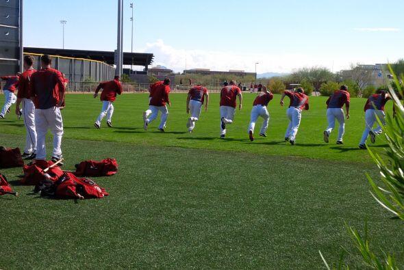 """""""Detrás"""" de los entrenamientos de primavera de la MLB,..."""