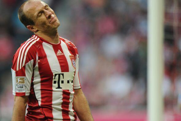 El talentoso extremo holandés tuvo uno de sus mejores partidos en...