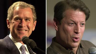En noviembre de 2000 George W. Bush, el candidato republicano, ganó la p...