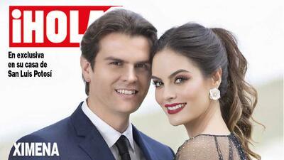 Ximena Navarrete está embarazada de su primer hijo