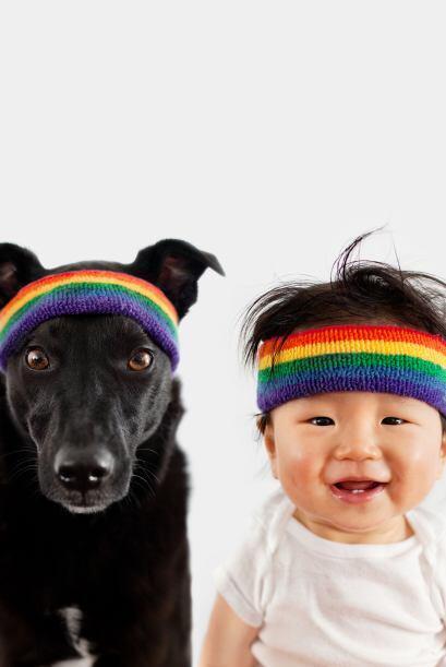 Grace tiene todo un portfolio de fotografías de perros, gatos, su hijo y...