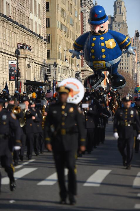 Desfile de Thanksgiving en NY.