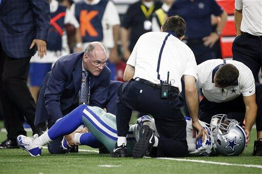 Las mejores tomas del duelo cardiaco que se llevó los Dallas Cowboys 27-...
