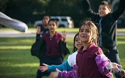 Convierten un parque en zona de lucha contra la obesidad infantil