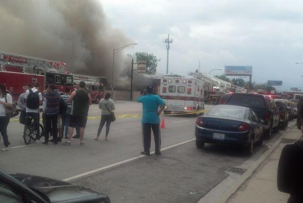 Incendio en Durango Grocery