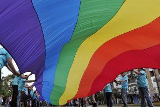Bandera del Orgullo Gay.