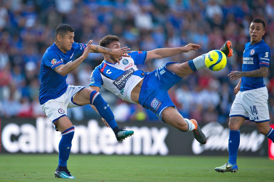 En fotos: Puebla rescata el empate tras una nueva 'Cruzazuleada' 2018021...