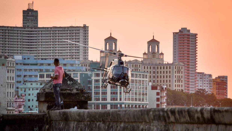 La Habana ha sido escenario en los últimos días de la producción de Holl...