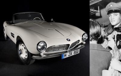 El BMW 507 chasis 70079 después de su restauración por el...